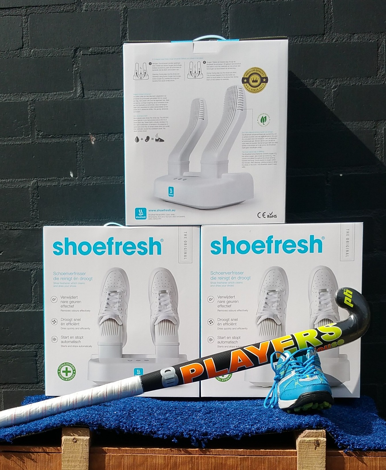 ShoeFresh verkoop punt in Best